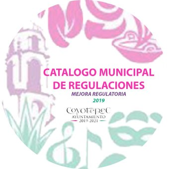 CATALOGO MUNICIPAL DE REGULACIONES